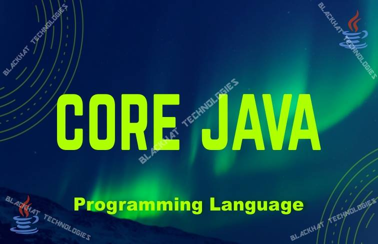 Core Java Programming Language Summer Training Patna